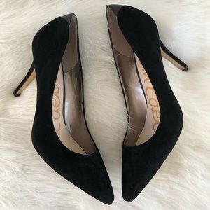 Sam Edelman black suede pumps 8